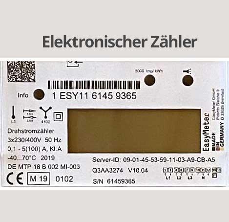 Elektronischer Zähler