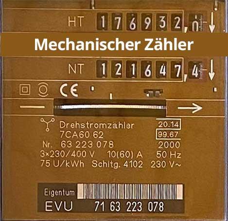 Mechanischer Zähler
